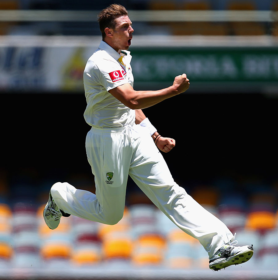 James Pattinson is elated after making a breakthrough