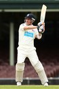 Brad Haddin pulls during his unbeaten hundred