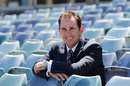 Newly appointed Western Australia Warriors coach Justin Langer at the WACA, Perth, November 14, 2012