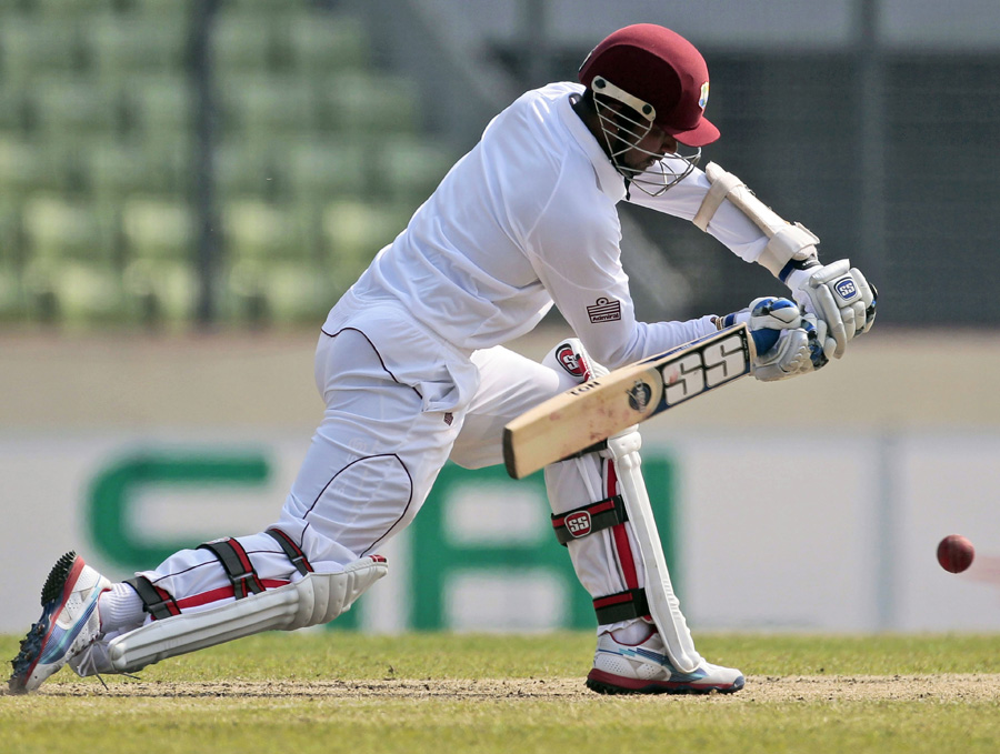 Denesh Ramdin made his second Test hundred in 2012