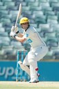 Tom Triffitt watches the ball closely, Western Australia v South Australia, Sheffield Shield, 2nd day, Perth, November 14, 2012