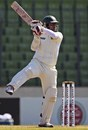 Shahriar Nafees cuts off the back foot, Bangladesh v West Indies, 1st Test, Mirpur, 5th day, November 17, 2012