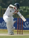 Tharanga Paranavitana was bowled in the first over, Sri Lanka v New Zealand, 1st Test, Galle, 2nd day, November 18, 2012
