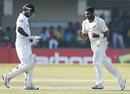 Prasanna Jayawardene is dismissed by Jeetan Patel, Sri Lanka v New Zealand, 1st Test, Galle, 2nd day, November 18, 2012