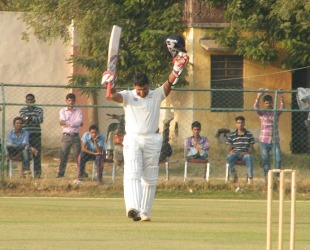 Rashmi Parida struck a century, Rajasthan v Madhya Pradesh, Ranji Trophy, Group A, 2nd day, Jaipur, November 18, 2012