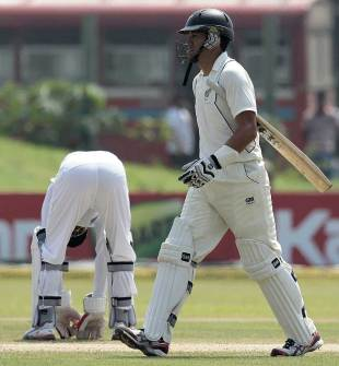 Ross Taylor fell after misreading an arm ball from Rangana Herath, Sri Lanka v New Zealand, 1st Test, Galle, 3rd day, November 19, 2012