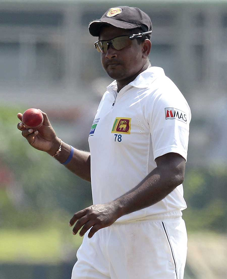 Rangana Herath continued his excellent run in Galle