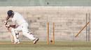 Maharashtra's Nikhil Paradkar  is bowled , Tamil Nadu v Maharashtra, Ranji Trophy, Group B, Chennai, 3rd day, November 19, 2012