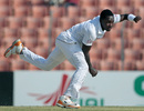 Fidel Edwards replaced the injured Ravi Rampaul, Bangladesh v West Indies, 2nd Test, Khulna, 1st day, November 21, 2012