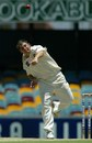 Mark Higgs sends down a delivery, Queensland v South Australia, Pura Cup, Brisbane, December 20, 2003
