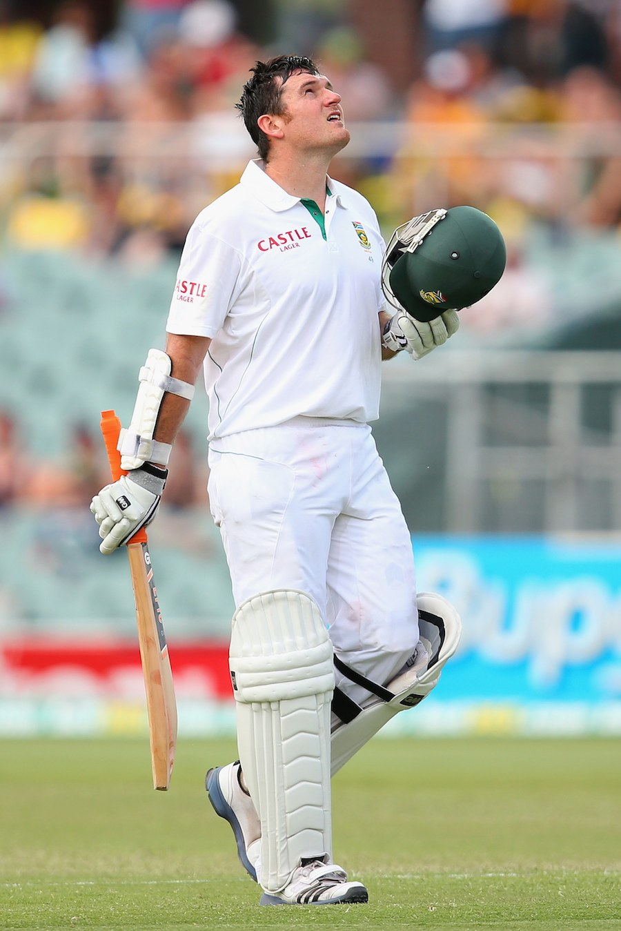 Graeme Smith brought up his 26th Test century