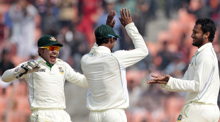 Shakib Al Hasan took four wickets in the morning, Bangladesh v West Indies, 2nd Test, Khulna, 4th day, November 24, 2012