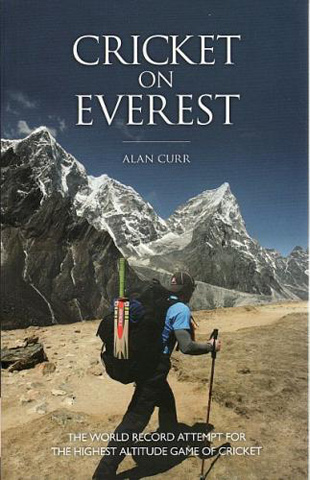 Cover image of <i>Cricket on the Everest</i> by Alan Curr