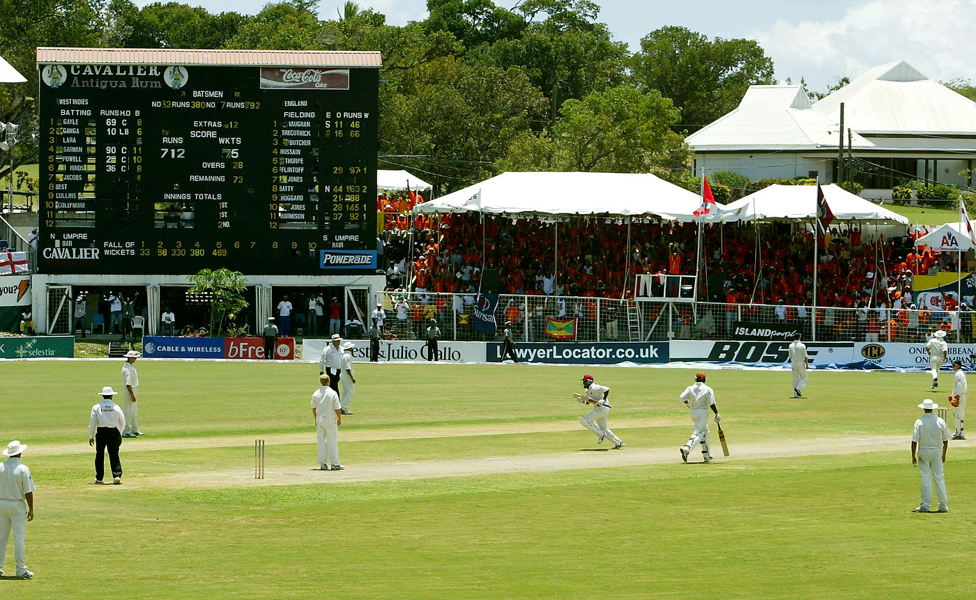 Quadruple carnage: Brian Lara regained the record for the highest Test score ten years after he first broke it, at the same venue and against the same opposition