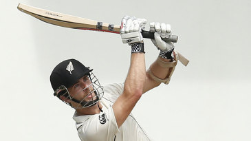 Kane Williamson goes over the top