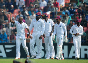 Tino Best was Bangladesh's destroyer-in-chief, Bangladesh v West Indies, 2nd Test, Khulna, 5th day, November 25, 2012
