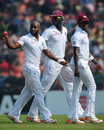 Tino Best picked up 6 for 40, his best Test figures, Bangladesh v West Indies, 2nd Test, Khulna, 5th day, November 25, 2012