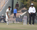 Sandeep Sharma took three wickets against Saurashtra