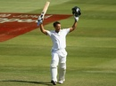 Faf du Plessis celebrates a century on debut