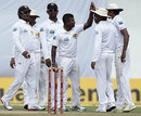 Seamers' blows put New Zealand on top
