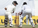 Kruger van Wyk was bowled by Tillakaratne Dilshan, Sri Lanka v New Zealand, 2nd Test, Colombo, 2nd day, November 26, 2012