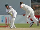 Rory Kleinveldt is bowled by a Peter Siddle yorker, Australia v South Africa, 2nd Test, Adelaide, 5th day, November 26, 2012