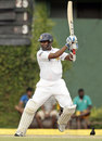 Thilan Samaraweera plays it through the off side