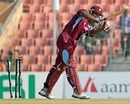Kieran Powell was bowled by Farhad Reza for 34, BCB XI v West Indians, Khulna, November 28, 2012