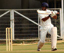 Virag Awate cuts during his century, Vidarbha v Maharashtra, Ranji Trophy, Group B, Nagpur, 4th day, November 27, 2012