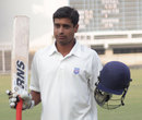 Virag Awate scored twin centuries on Ranji debut, Vidarbha v Maharashtra, Ranji Trophy, Group B, Nagpur, 4th day, November 27, 2012