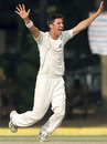 Trent Boult took the final wicket to seal the win, Sri Lanka v New Zealand, 2nd Test, Colombo, 5th day, November 29, 2012