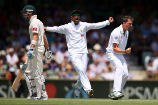 Dale Steyn got Michael Clarke with a cracker of a delivery, Australia v South Africa, 3rd Test, 2nd day, Perth, December 1, 2012