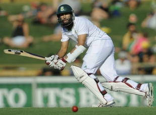 Hashim Amla was on 99 at stumps, Australia v South Africa, 3rd Test, 2nd day, Perth, December 1, 2012