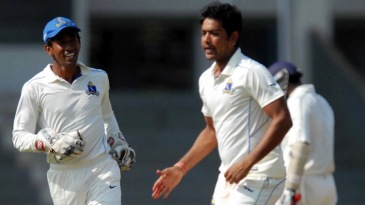 Laxmi Shukla picked up four wicket on the first day