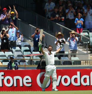 Ricky Ponting's decorated career comes to an end, Australia v South Africa, 3rd Test, Perth, 4th day, December 3, 2012