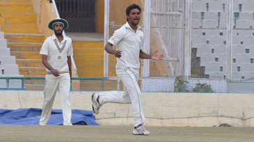 Sandeep Sharma destroyed Rajasthan's middle order to take five wickets