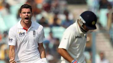 James Anderson had Virat Kohli caught at slip