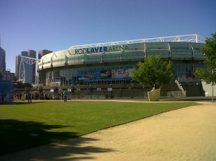 A view of the Rod Laver Arena in Melbourne, November 2012