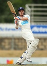 Scott Henry pulls during his double century, Chairman's XI v Sri Lankans, 2nd day, December 7, 2012