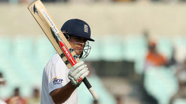 Alastair Cook passed 150 on the third morning