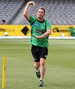Shane Warne bowls in the lead-up to the BBL opener