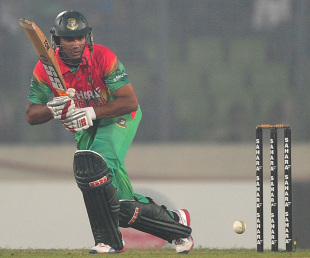 Mahmudullah scored a half-century, Bangladesh v West Indies, 4th ODI, Mirpur, December 7, 2012
