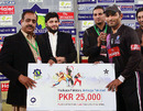 Asif Ali was the man of the match for his knock of 66, Multan Tigers v Faisalabad Wolves, semi-final, Faysal Bank T-20 Cup, December 8, 2012