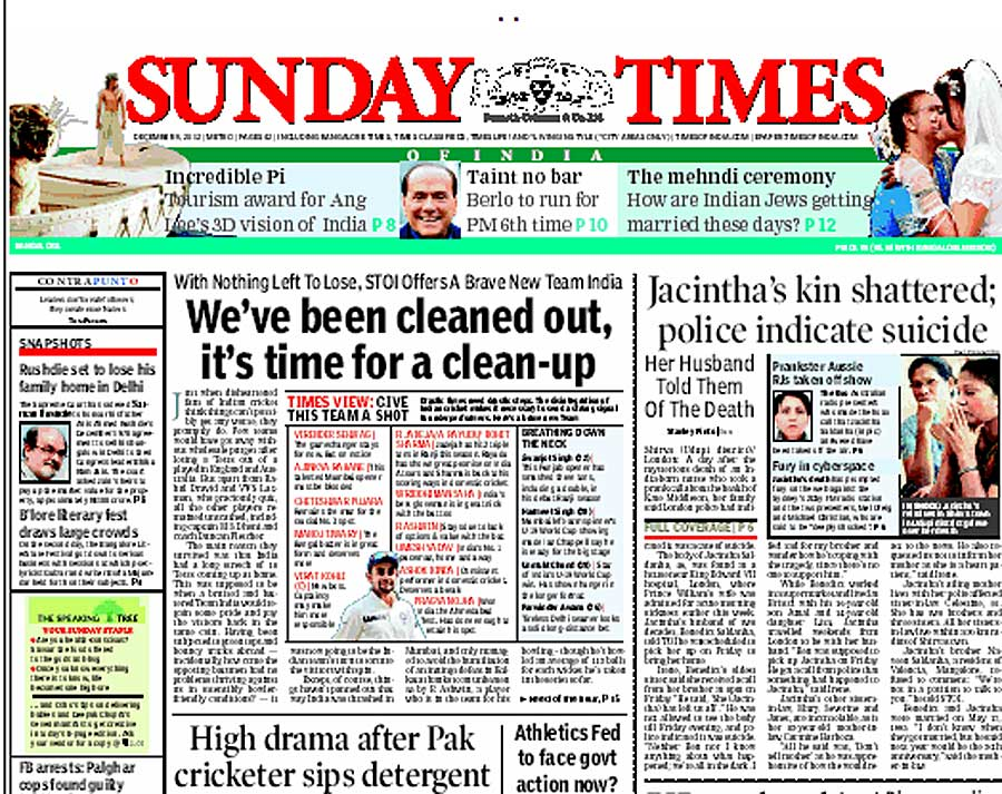 times of india vs the hindu They represent now 85 percent of the total indian population but who are the  other 15 percent on the margins of this hindu world, at times in.