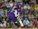 Travis Birt scored an unbeaten 57, Brisbane Heat v Hobart Hurricanes, BBL, Brisbane, December 9, 2012