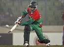 Tamim Iqbal scored 88 off 61 balls, Bangladesh v West Indies, only Twenty20, Mirpur, December 10, 2011