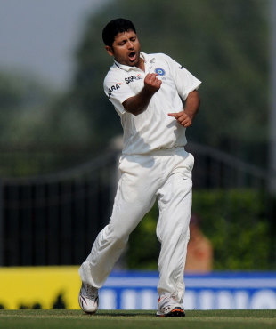 Piyush Chawla finished with four wickets, India v England, 4th Test, Nagpur, 2nd day, December 14, 2012