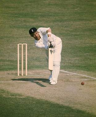 David Steele batting against Australia, Lord's, July 1975