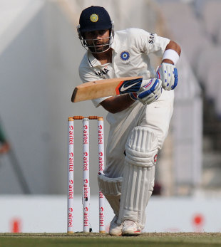 Virat Kohli was a study of concentration, India v England, 4th Test, Nagpur, 3rd day, December 15, 2012