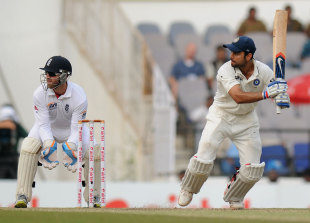 Virat Kohli progressed watchfully towards his hundred, India v England, 4th Test, Nagpur, 3rd day, December 15, 2012